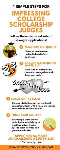 4 Simple Steps To Impress College Scholarship Judges