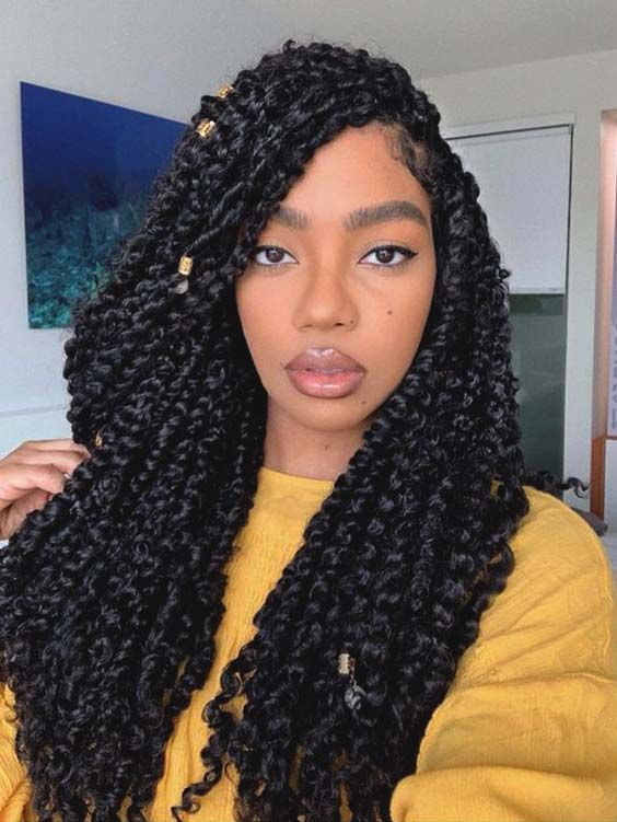 10 Inspo Worthy Protective Summer Hairstyle Trends For Natural Hair Ecemella Braided Hairstyles Twist Hairstyles Natural Hair Styles