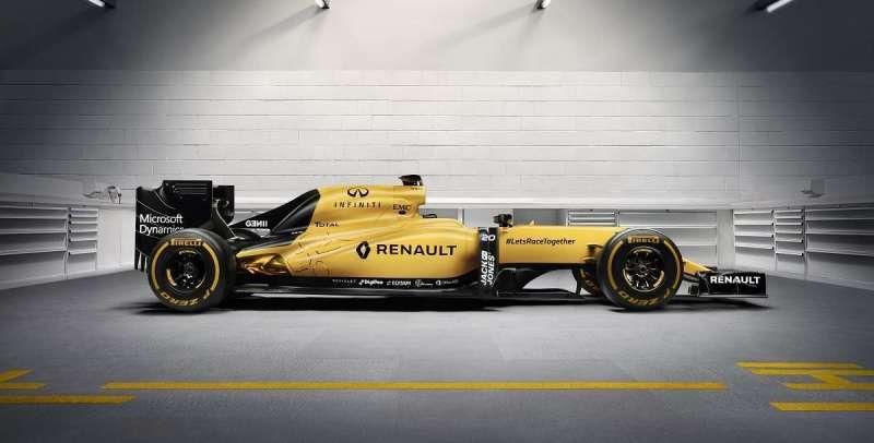 F1   La Renault svela la livrea definitiva della monoposto 2016