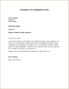 Acceptance of a resignation letter download at httpwriteletter2 acceptance of a resignation letter download at httpwriteletter2acceptance of a resignation letter spiritdancerdesigns Gallery