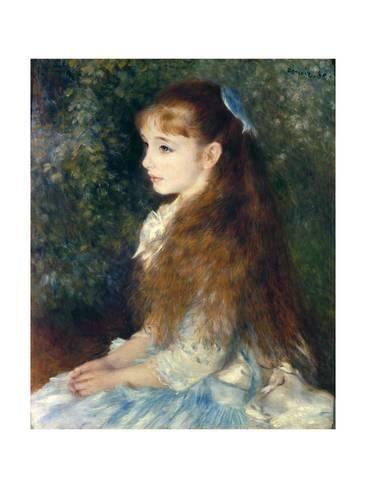 Giclee Print: Irene Cahen D'Anvers, 1880 by Pierre-Auguste Renoir : 16x12in