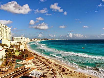 Tour By Mexico Google Cancún Arena Playa El Mar Azul