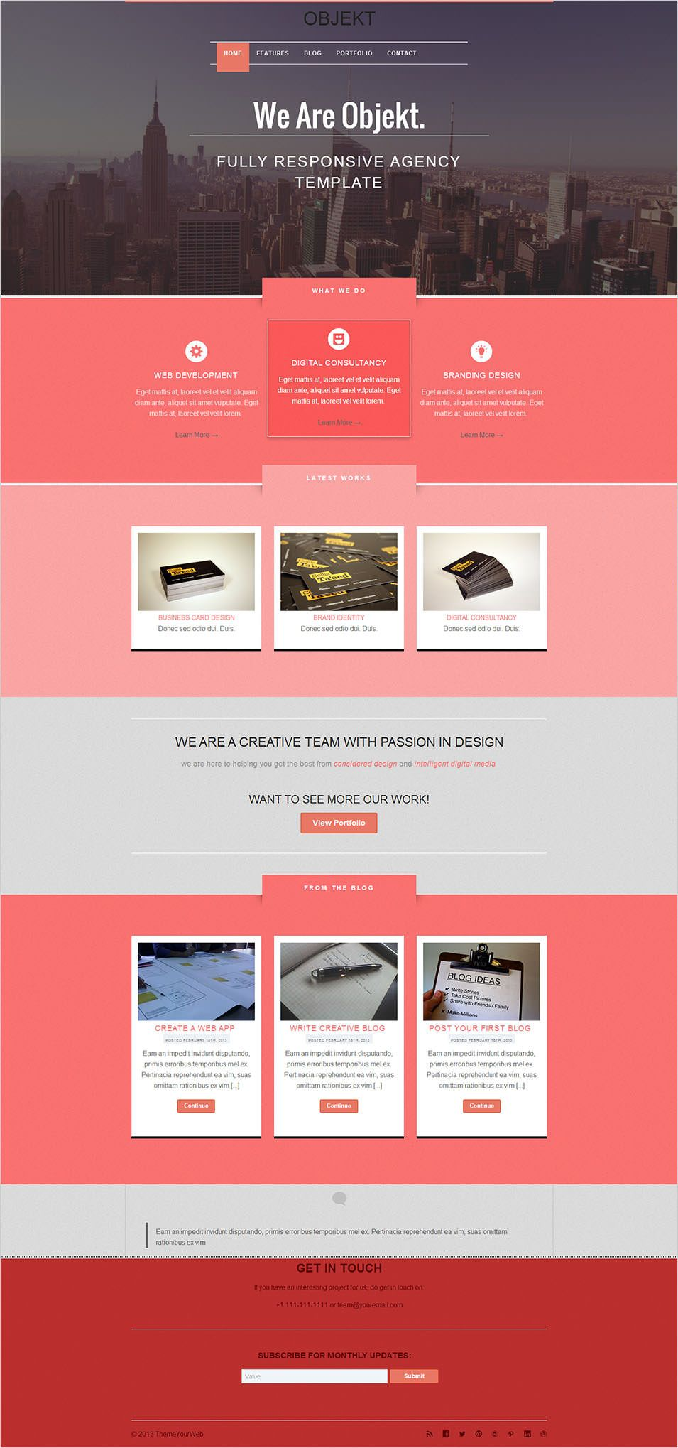 20 best flat design website templates free premium templates 20 best flat design website templates free premium templates cheaphphosting Choice Image