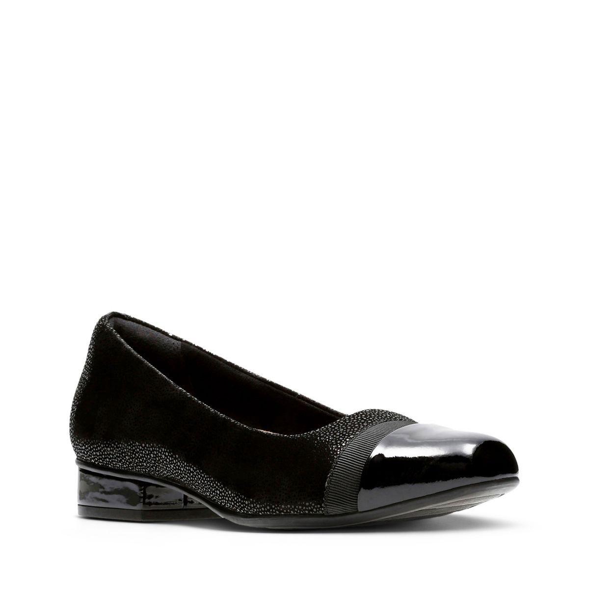 Clarks Keesha Rosa - Womens Shoes Black