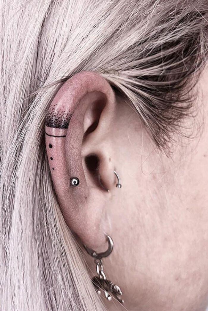 Temporary Tattoo 8 Hummingbird Ear Tattoos Finger Tattoos