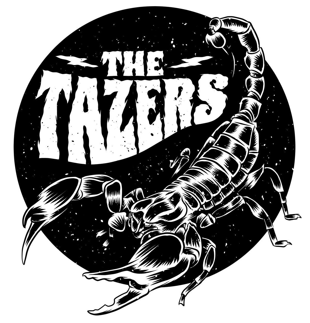 The Tazers Logo on Behance