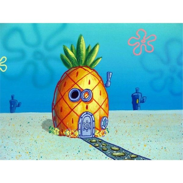 Spongebob S House View Original Production Background Liked On