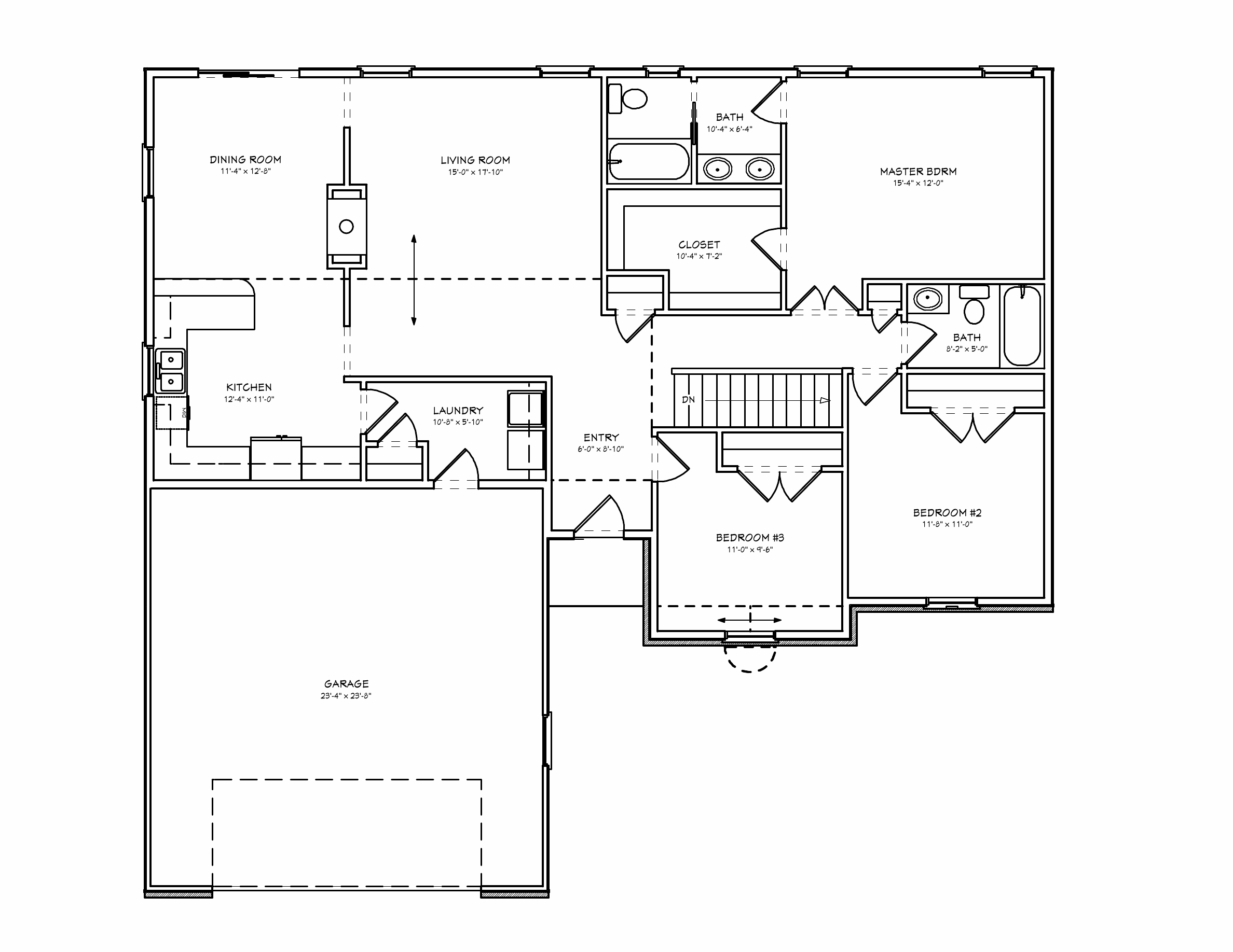 1000 Square Foot House Plans Floor Plans Pinterest