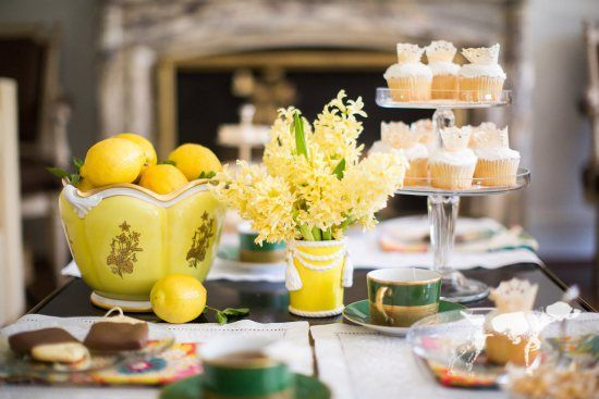 A Tea Party Fit For a Royal: Await the birth of the next royal like one yourself