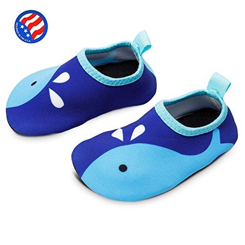 92d201825f Bigib Toddler Kids Swim Water Shoes Quick Dry Non-Slip Water Skin ...