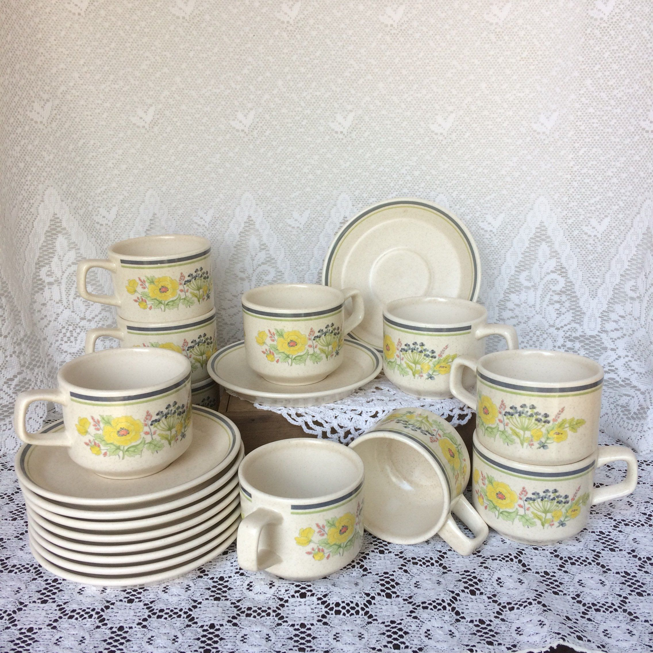 gallery photo Coffee cups, saucers, Cup, saucer set, Cup