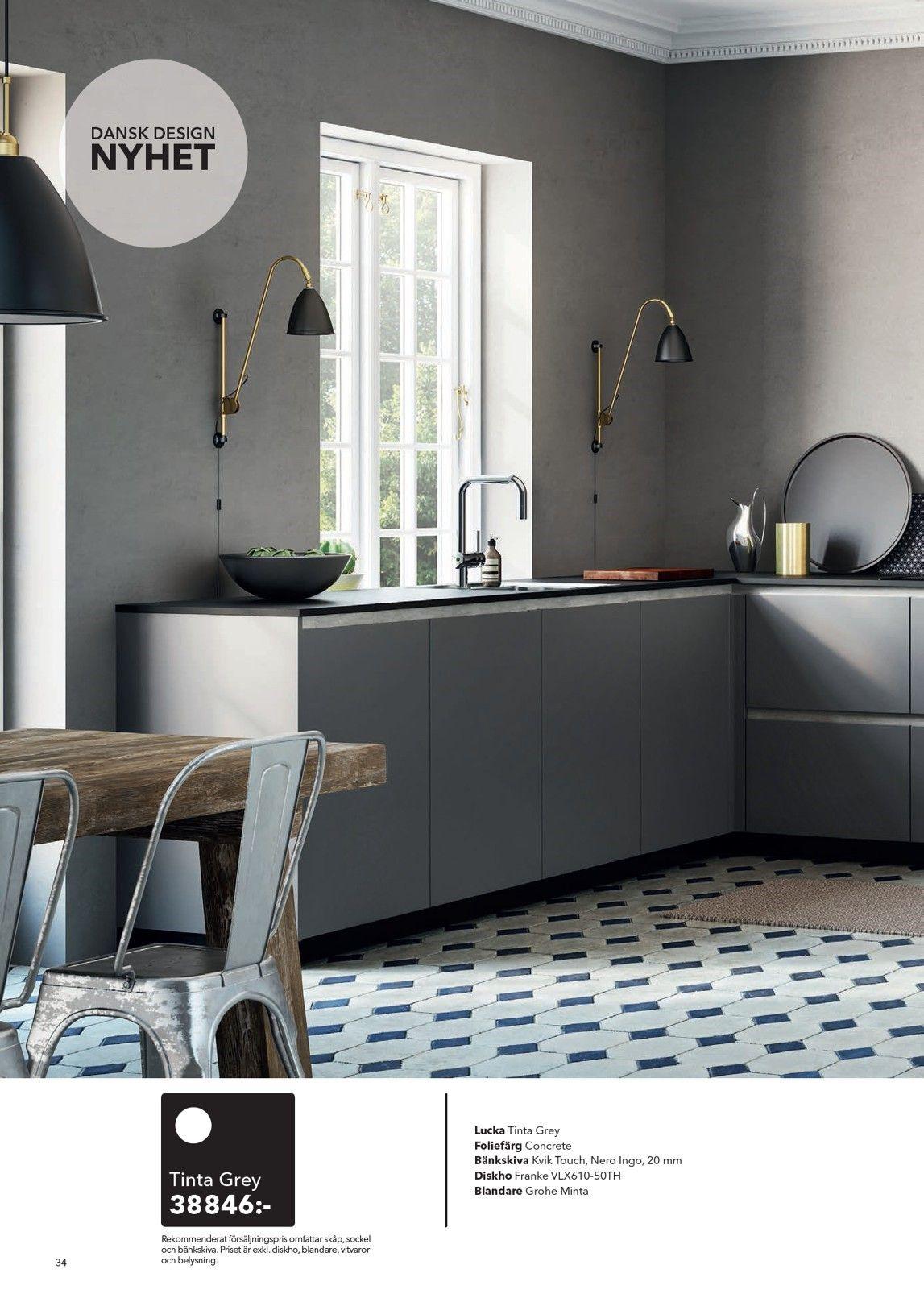 ab3ace38421 Kvik - Katalog 2016   Kitchen   Kitchen, Home decor, Dining bench