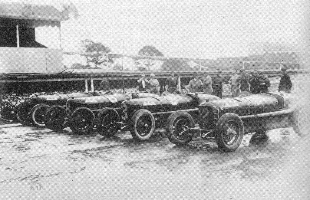 #pha.033635 Photo ANTONIO ASCARI ALFA ROMEO P2 GRAND PRIX SPA-FRANCORCHAMPS 1925