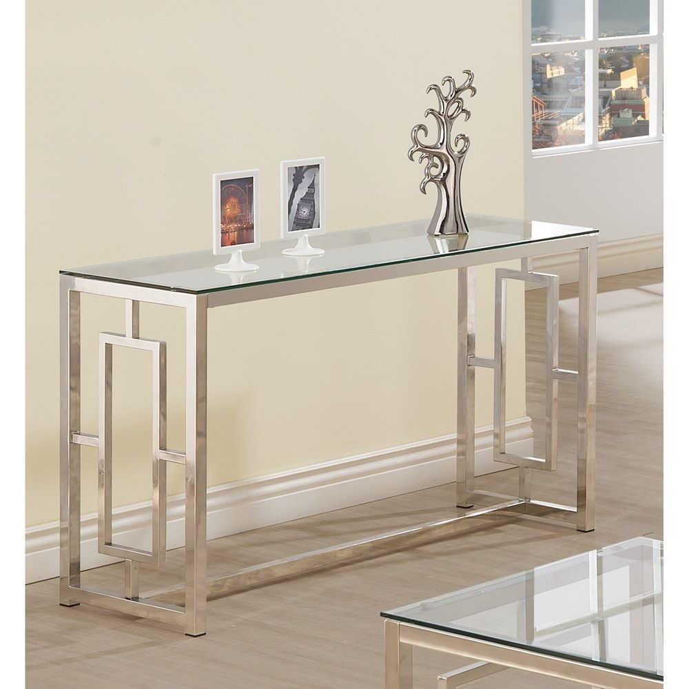 Overstock Com Online Shopping Bedding Furniture Electronics Jewelry Clothing More In 2020 Metal Sofa Contemporary Console Table Foyer Decor