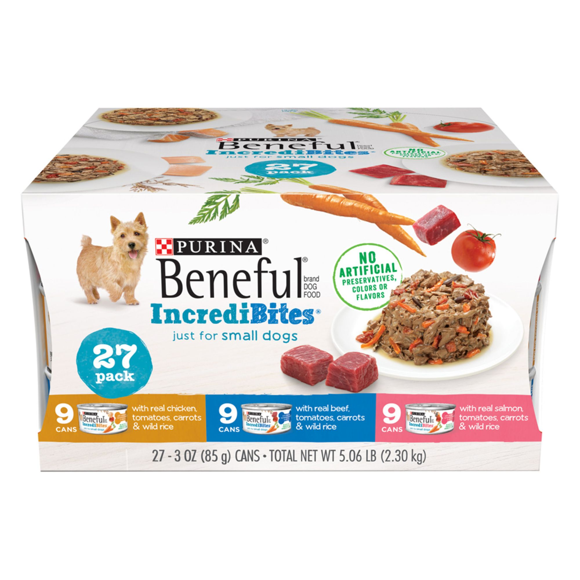 Purina Beneful Incredibites Small Dog Wet Food Variety Pack