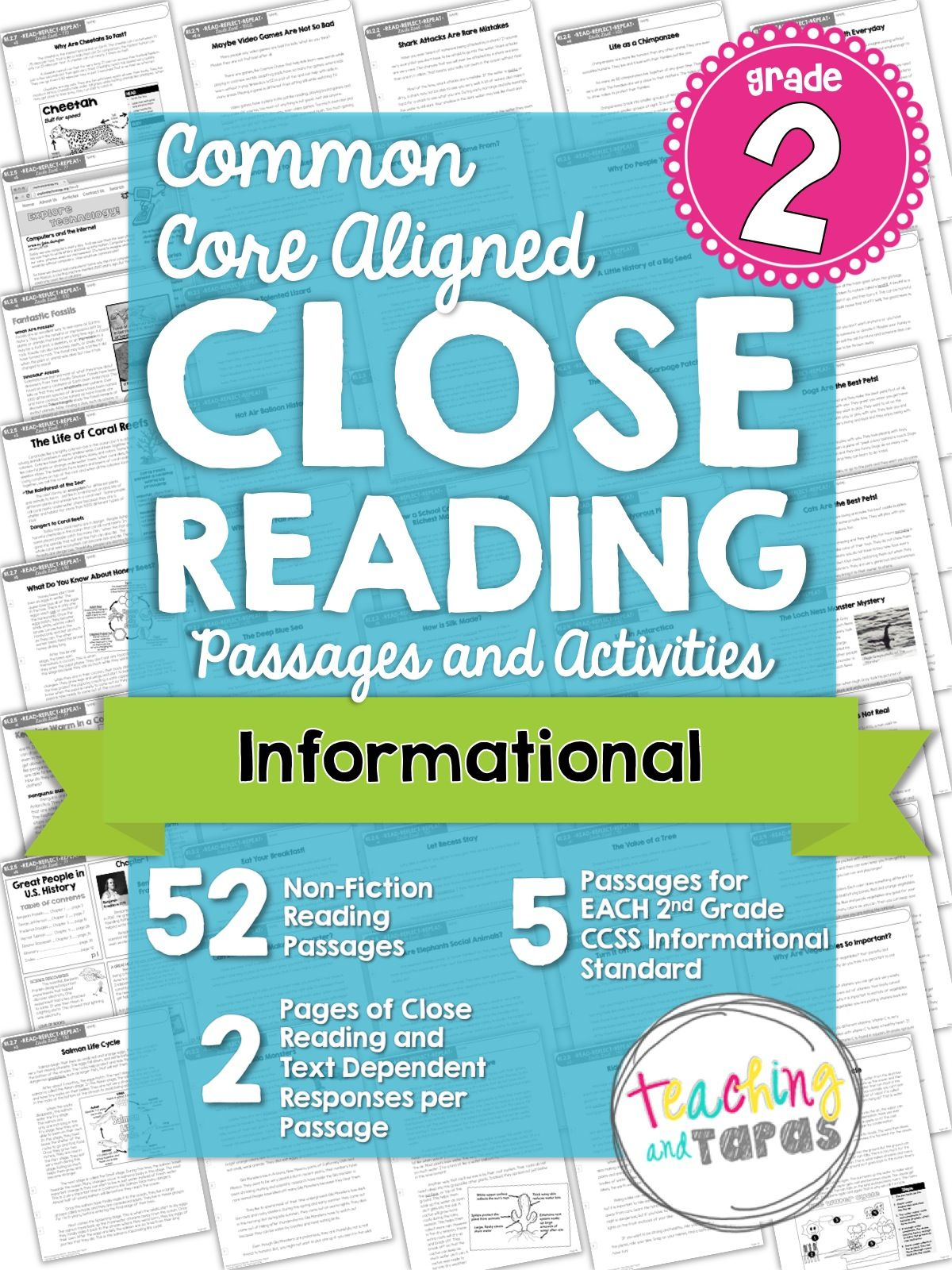 My Latest Baby Teaching And Tapas Close Reading Close Reading Passages Reading Passages [ 1600 x 1200 Pixel ]