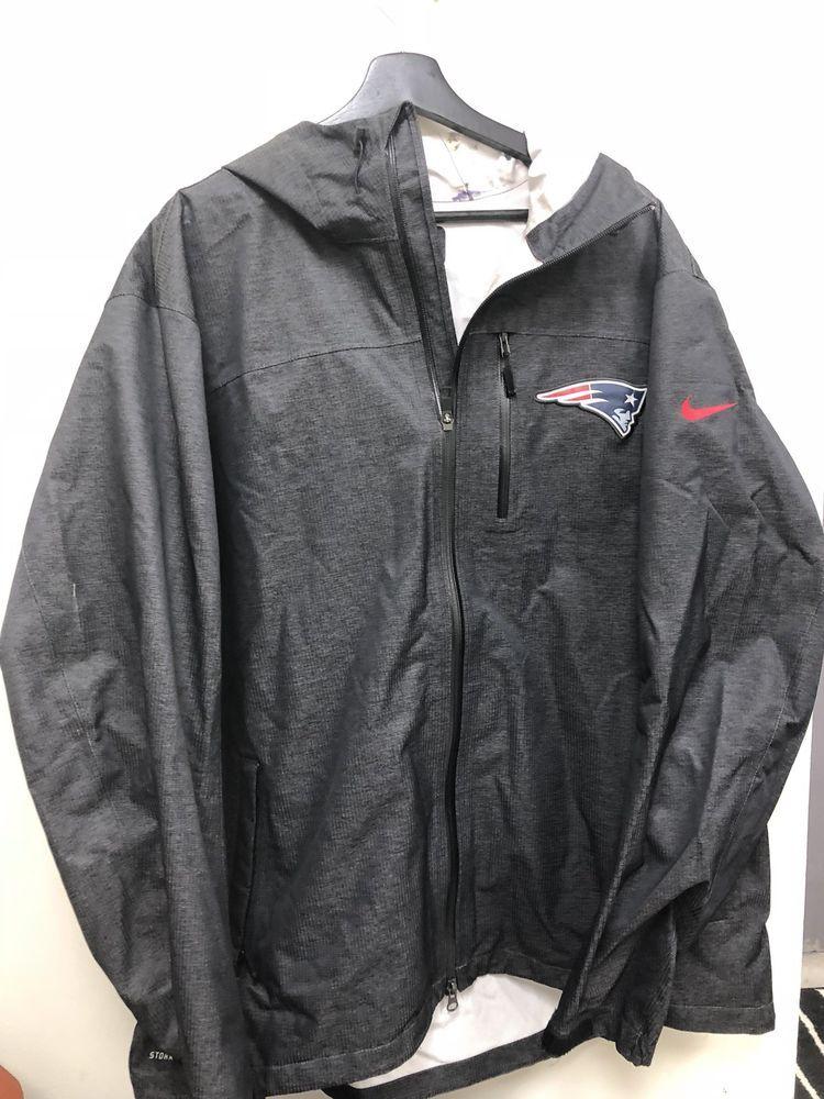 Nike NFL New England Patriots Dri Fit Windbreaker Jacket Size XXL Free  Shipping  c4e5a507d