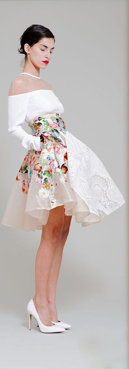 Hussein Bazaza - Ready-to-Wear - Spring-summer 2014 -- This is simply luscious!