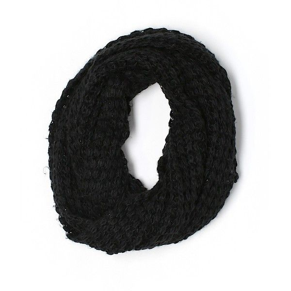 Pre-owned Paula Bianco Scarf Size 00: Black Women's Accessories (160 DKK) ❤ liked on Polyvore featuring accessories, scarves, black, paula bianco scarves and paula bianco