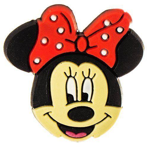 Disney Adorable Minnie Mouse 2 Shoe Crocs Charms Jibbitz