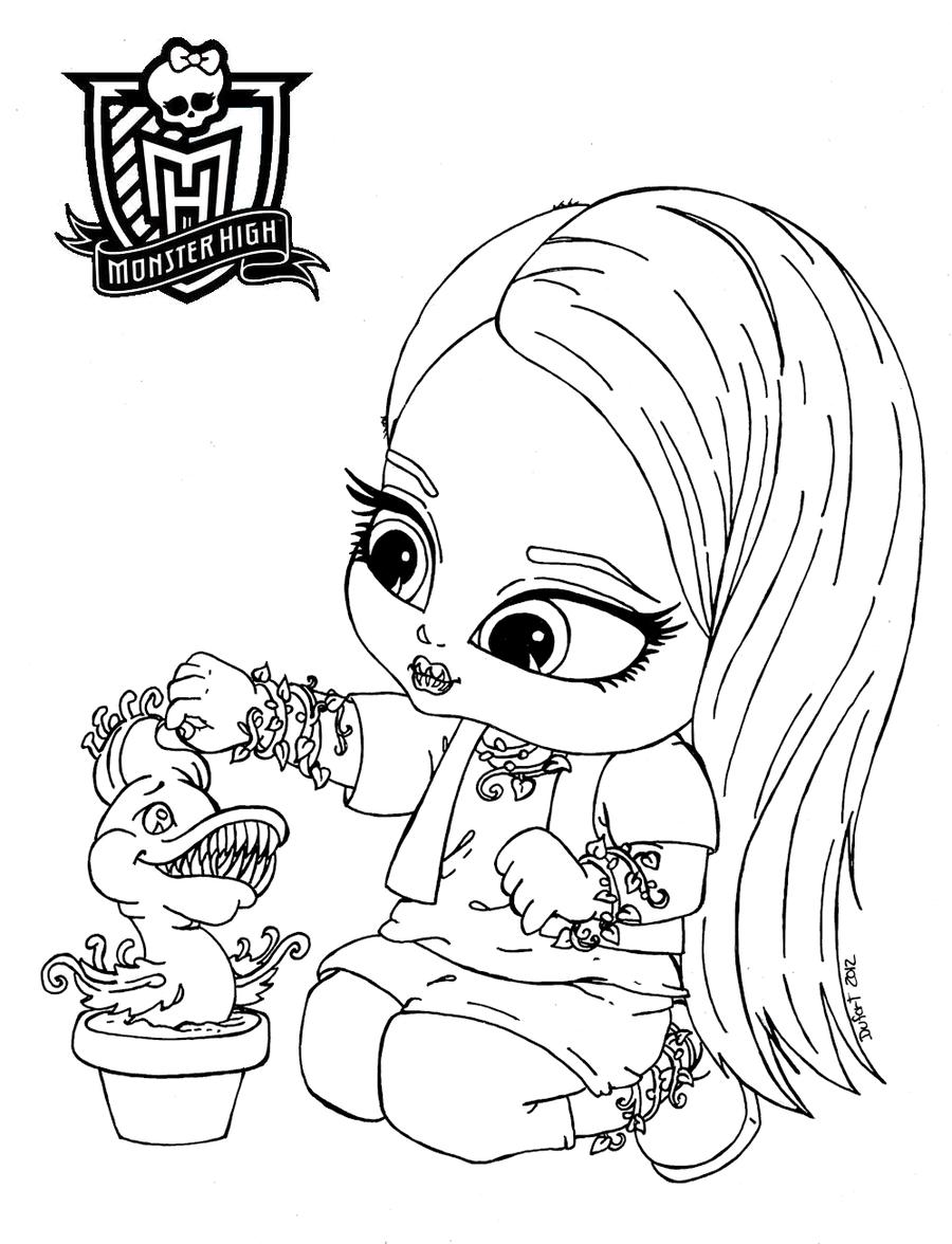 Baby Venus McFly Trap by JadeDragonne.deviantart.com on @deviantART ...