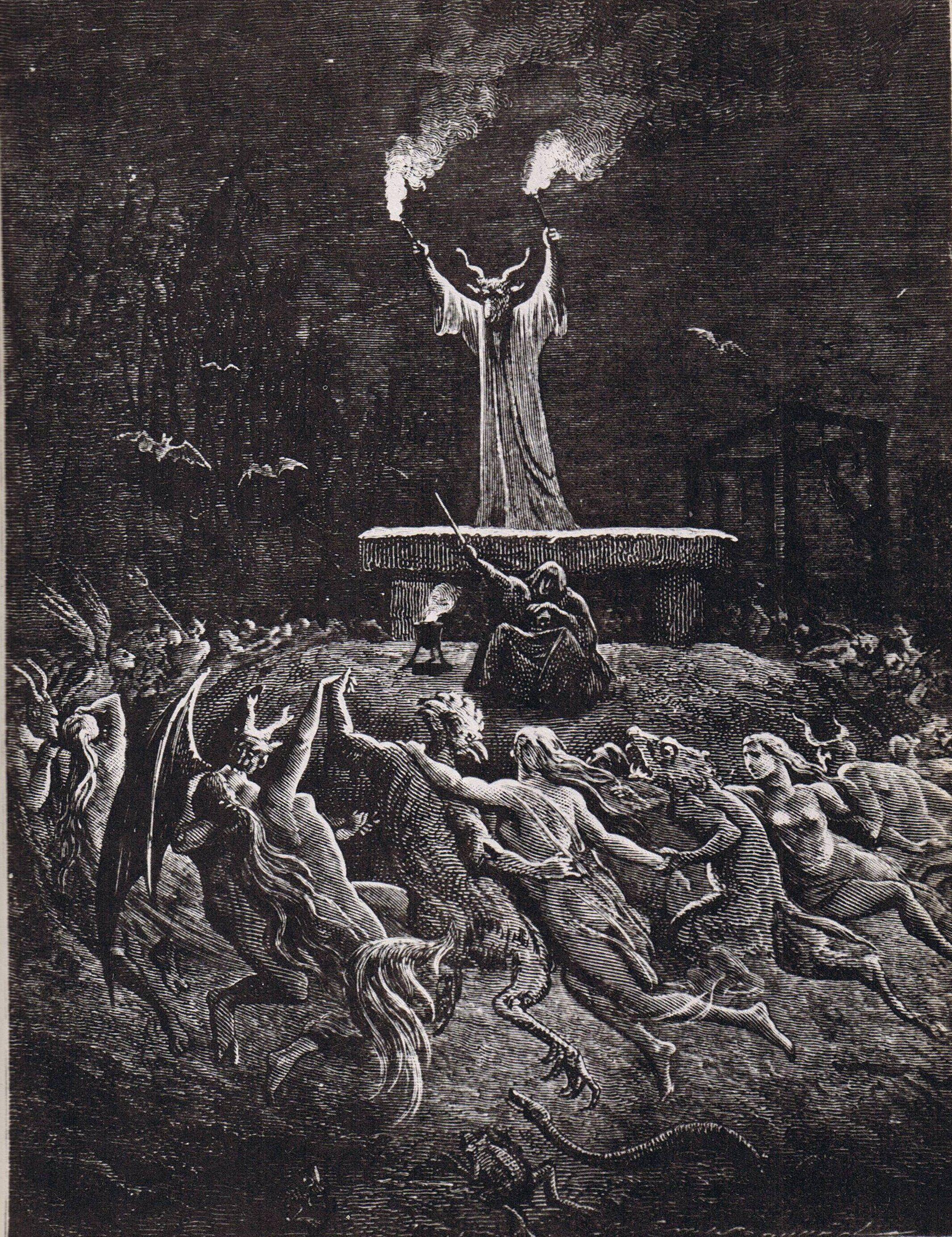 Pin by Joanne Lieser on Art ♥ | Satanic art, Gustave dore, Occult art