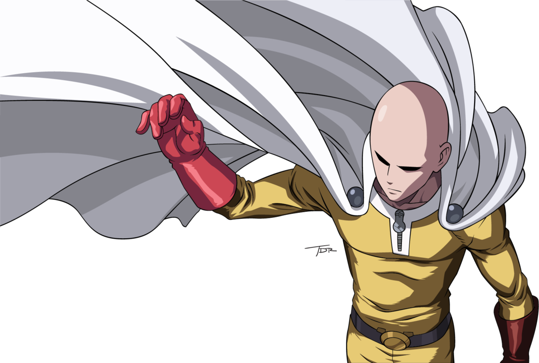 Top Ten Most Popular Anime on the One punch man