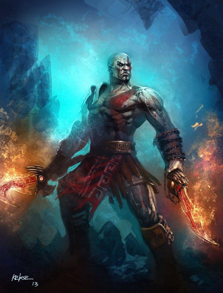 Kratos And His Chaos Blades By Kekse0719 At Deviantart Kratos E Suas Laminas Do Caos Por Kekse0719 Em Deviant Kratos God Of War God Of War God Of War Series God of war blades of chaos wallpaper