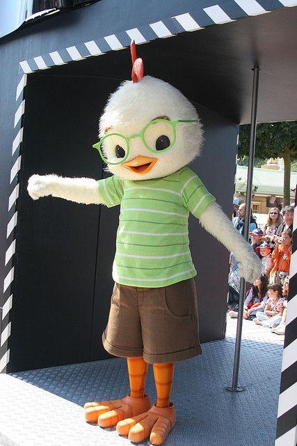 Chicken Little Disneyland Paris 2007 Disney Parks