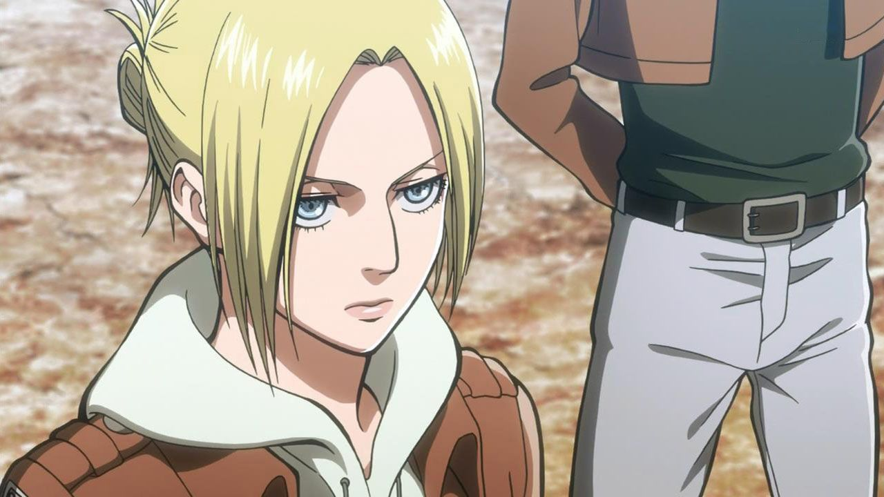 Annie Leonhardt Annie leonhart, Anime