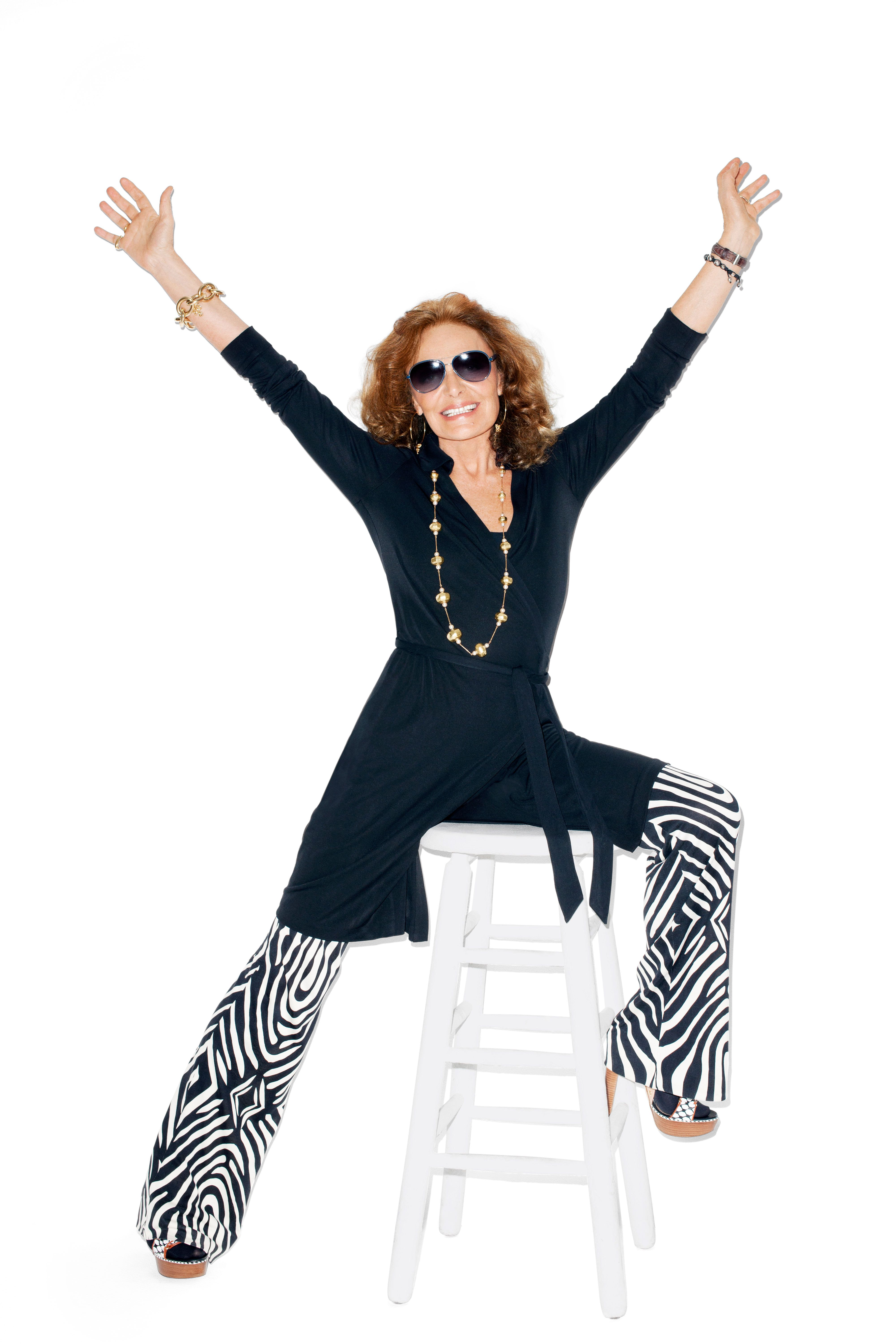 Diane von Furstenberg's Wrap Dress Turns 40 - Diane von Furstenberg Wrap Dress Anniversary - Harper's BAZAAR Magazine