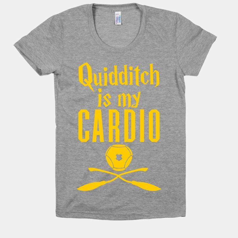 Quidditch Is My Cardio | HUMAN | T-Shirts, Tanks, Sweatshirts and Hoodies