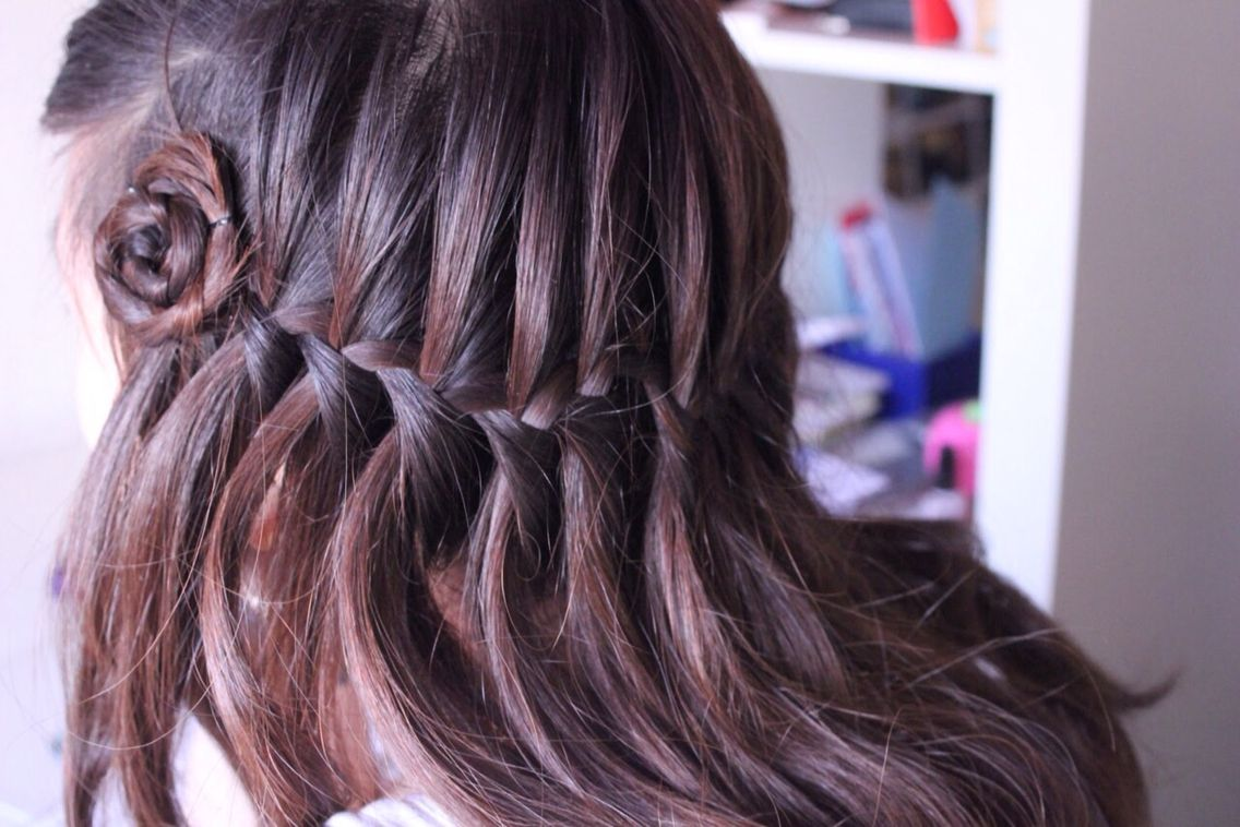 Waterfall braid hair styles pinterest hair style
