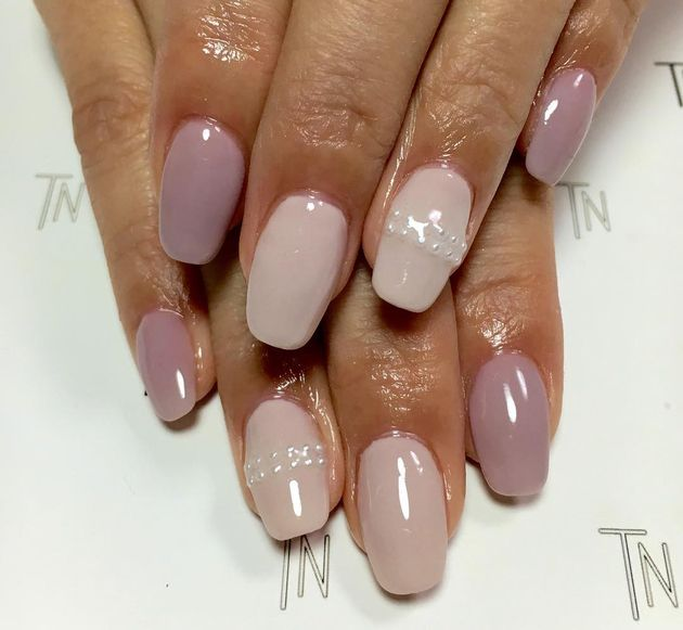 Sheer Nude Nail Polish Colors | Nailed It To The Game | Pinterest