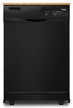 Whirlpool Quiet Partner I : whirlpool, quiet, partner, Appliances, Whirlpool, ENERGY, STAR®, Portable, Dishwasher, Black, RentACenter.com, Dishwasher,