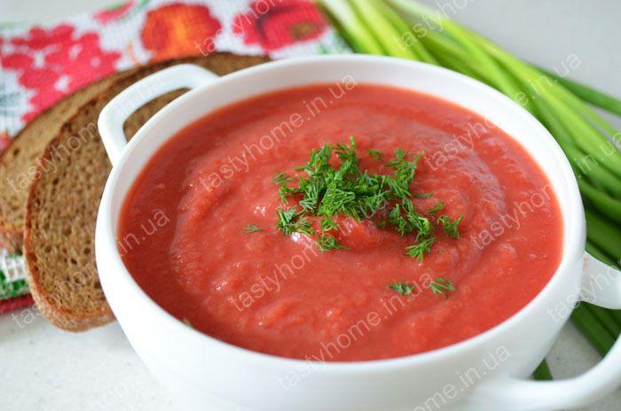 простой рецепт свекольного супа