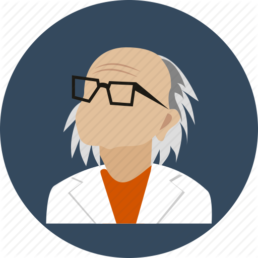 Avatar Doctor Eyeglasses Human Old Profile User Icon Download On Iconfinder Work Icon Avatar Olds