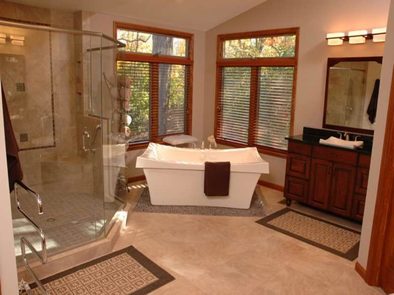 Bathroom Master Bath Floor Plans With White Tub Decor Modern Ideas Small
