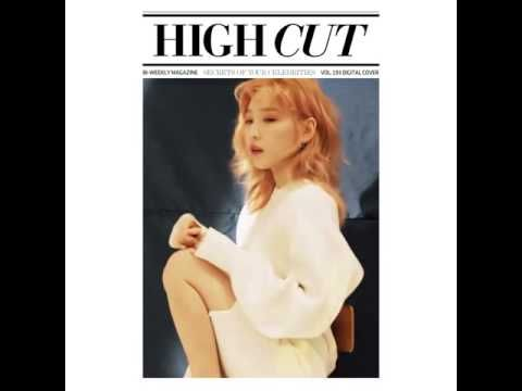 Wonderful Generation: SNSD TaeYeon for High Cut's March issue