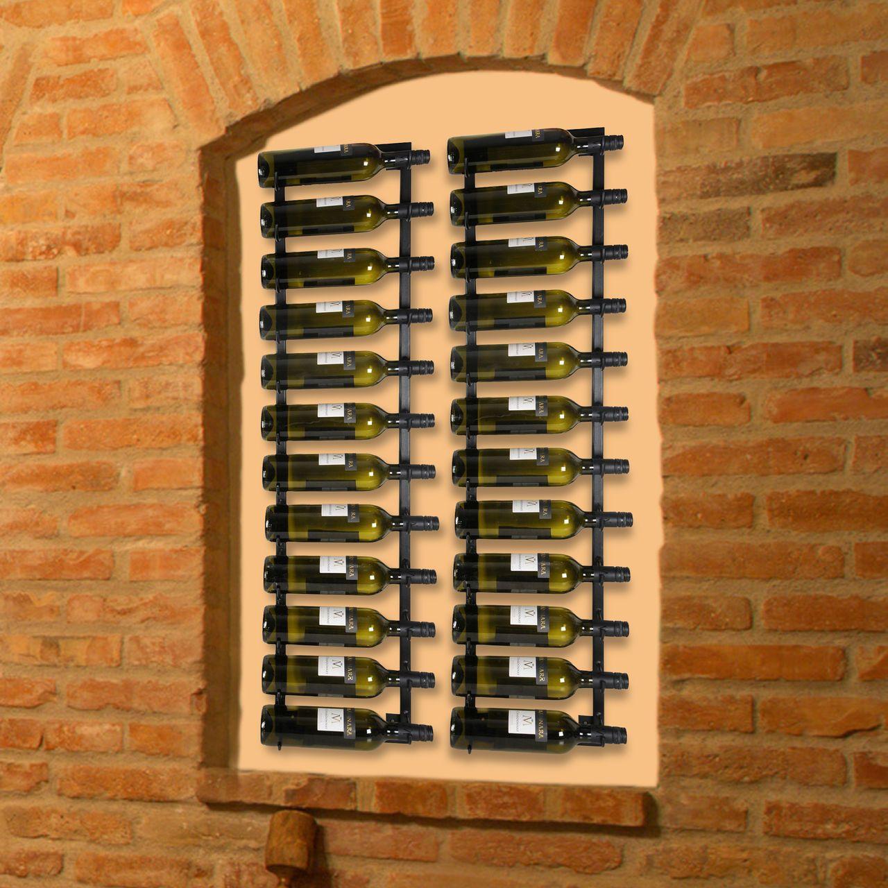 Häufig Weinregal Hang up für die Wand zum Aufhängen. Aus LY68