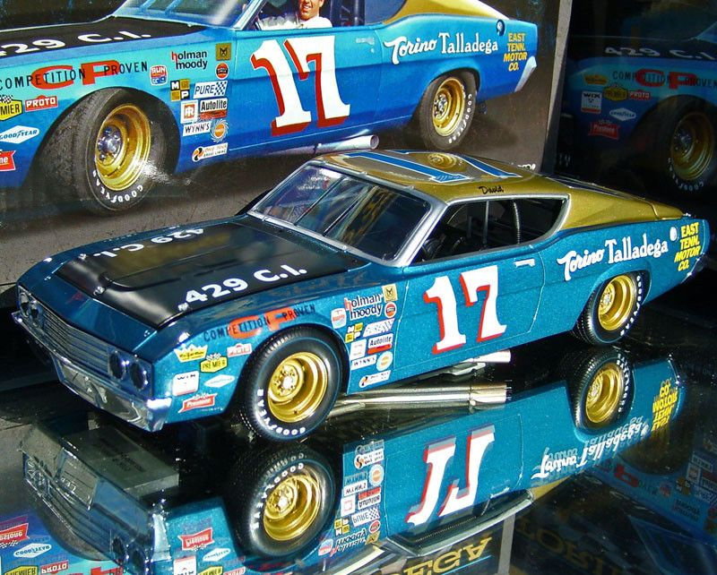 7a4213cc3c5 Other Diecast Racing Cars 45354  David Pearson 1969 East Tennessee Ford  Torino 1 24 Scale