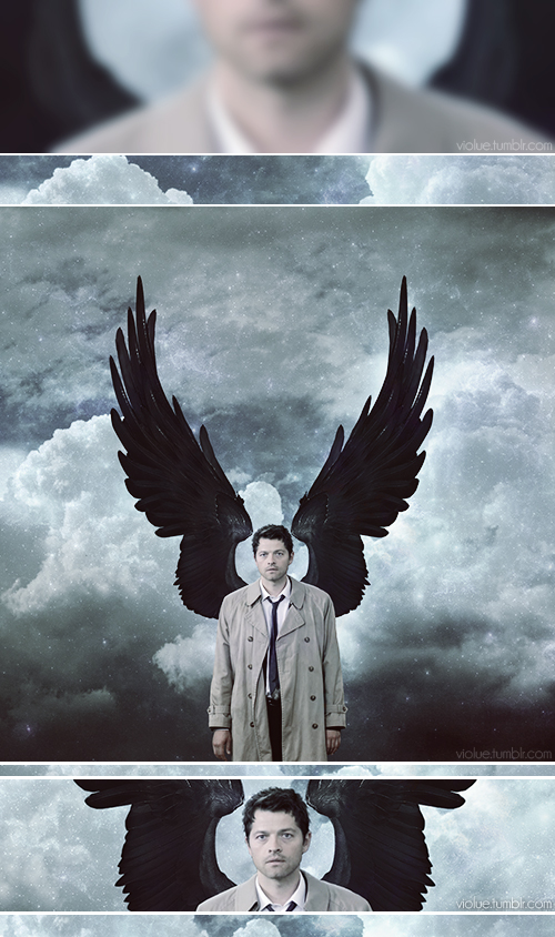 "Castiel: ""Angels are warriors of God. I'm a soldier."" #spn"