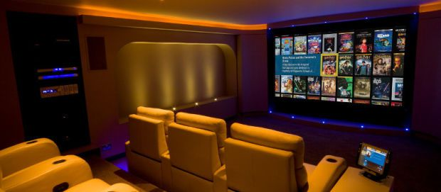 Home cinema rooms pictures.