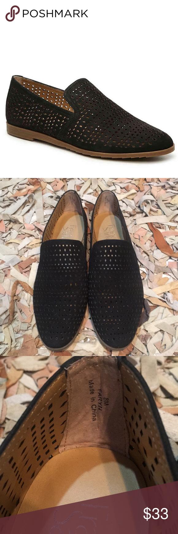 3c4e8dd5b4c Franco Sarto black suede loafers Faryn Sz 8 Sz 8 Worn once only inside