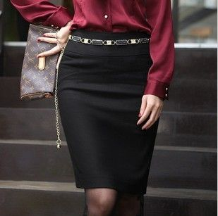 US $8.20 2012 women's black ol all match bag bust skirt-in Skirts from Apparel & Accessories on Aliexpress.com