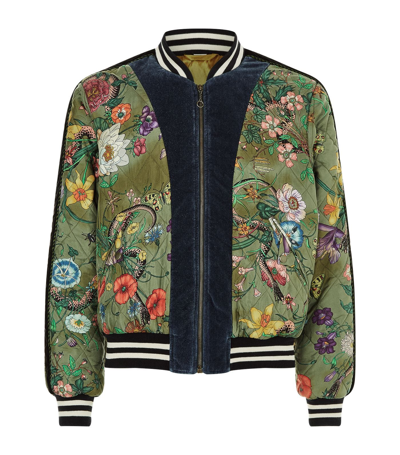 GUCCI .  gucci  cloth     Gucci Men in 2019   Jackets, Bomber Jacket ... 38ae744f0c4