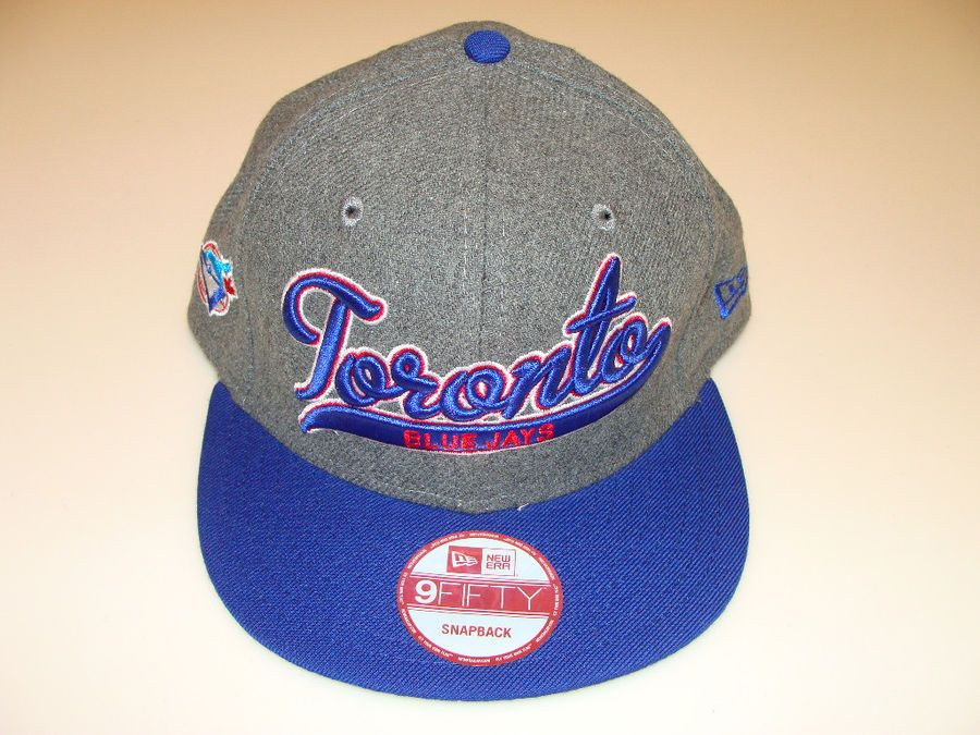 8045f9562ad New Era Toronto Blue Jays Scripter Snapback Cap Hat MLB Baseball Adjustable  OSFM Jays Scripter Snapback