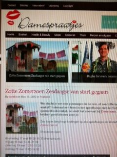 blog Damespraatjes.nl 16th of May 2012