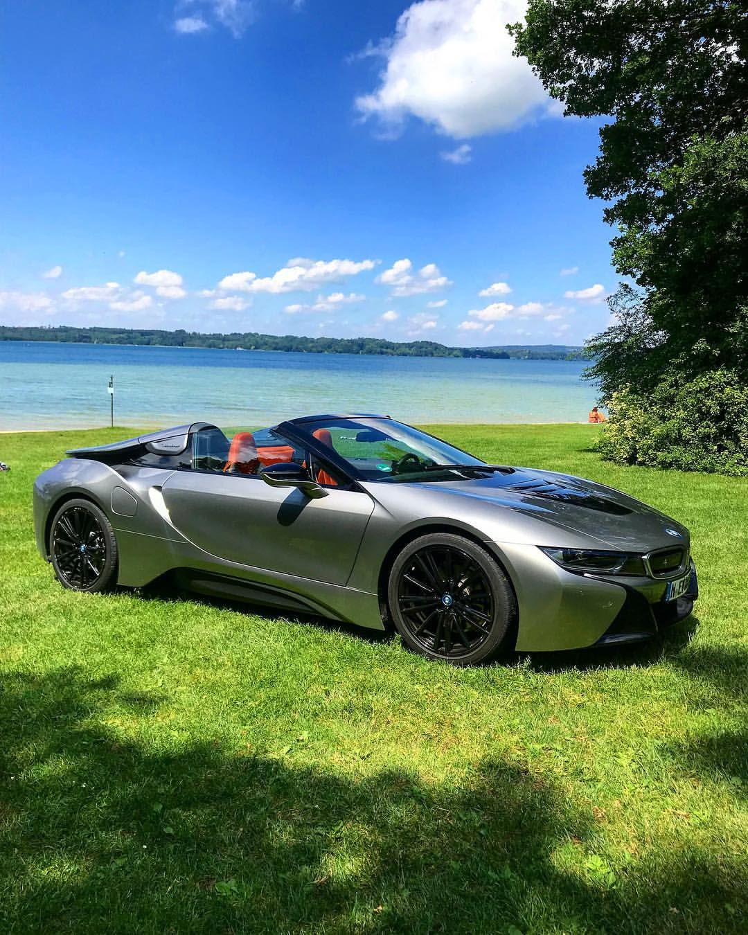 Bmw I8 Roadster: Roof Down, Sunny Day☀️ #BMW#I8#Roadster (With Images