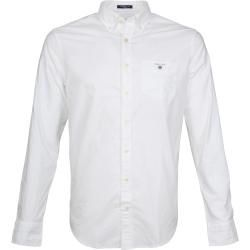 Regular fit shirts for men -  Gant Casual Hed Oxford White GantGant  - #